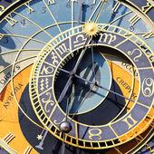 Zodiakalny zegar kwadrat — Zdjęcie stockowe