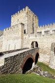 里斯本城堡 — 图库照片