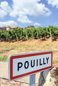 Pouilly village — Stock Photo
