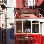 Red tram — Stock Photo #7213141
