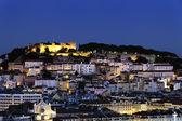 Lisbon by night — Stock Photo