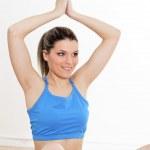 exercice d'yoga — Photo