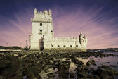 Sunset on Belem — Stock Photo