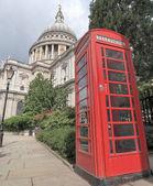 London telephone box — Стоковое фото