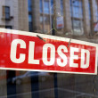Closed sign — Stock Photo #7229047