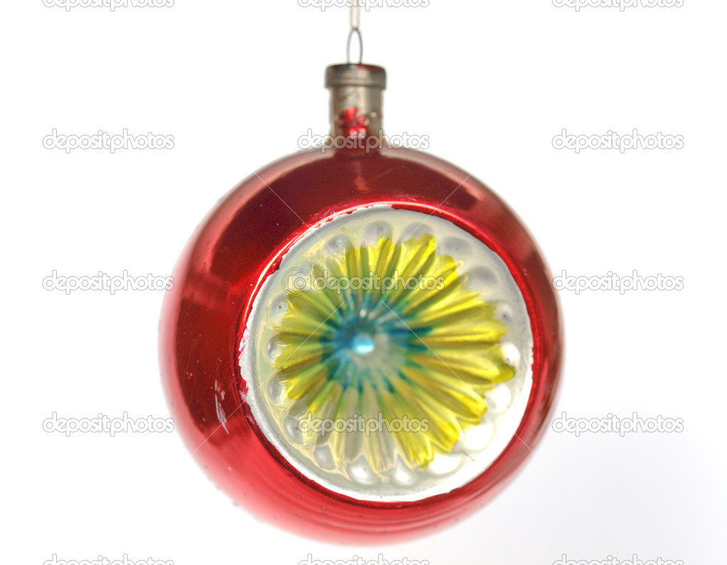 Bauble for Christmas tree decoration — Stock Photo #7229534
