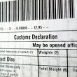 Customs declaration — Stock Photo #7241881