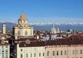 Piazza castello, turín — Foto de Stock