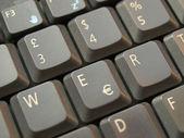 Počítačová klávesnice — Stock fotografie