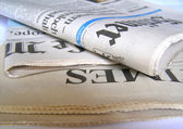 Newspapers picture — Stock Photo