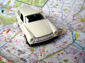 Trabant car — Stockfoto