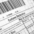 Customs declaration — Stock Photo #7267162