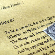 William Shakespeare Hamlet — Stock Photo #7269469