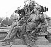 Neptunbrunnen — Stock Photo