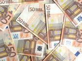 Euro bankonotes background — Stock Photo