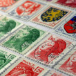 Stock Photo: French stamps