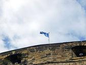 Scottish flag — Stock Photo