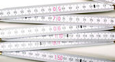 Carpenter ruler — Stockfoto