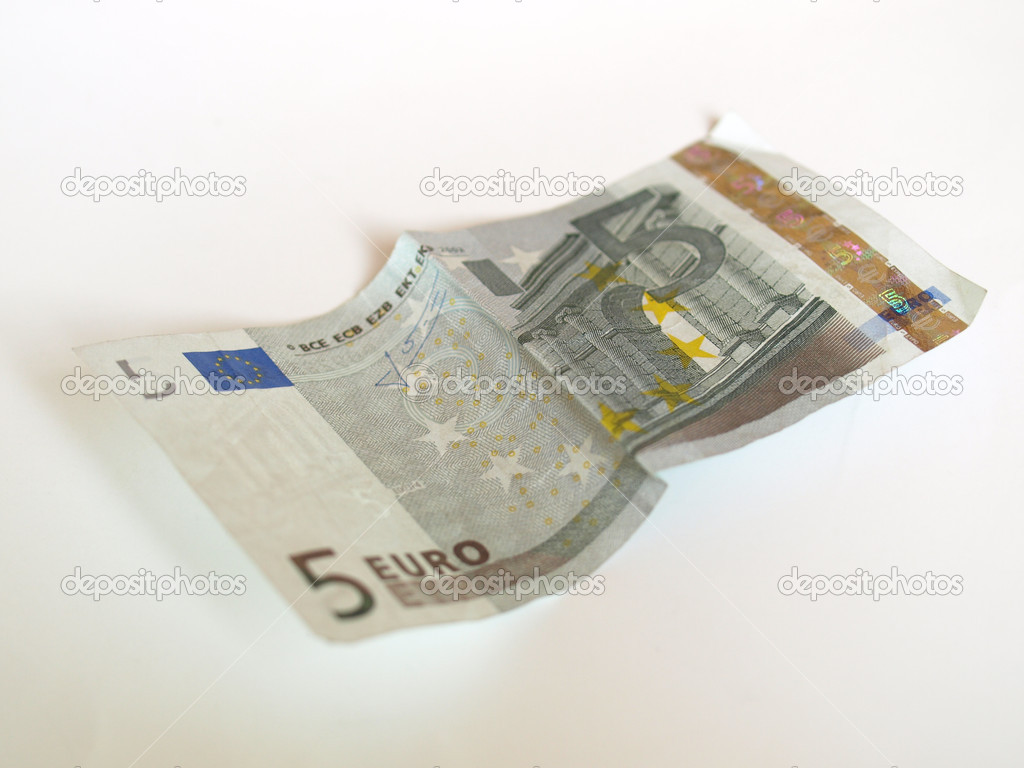 Euro banknote (currency of the European Union) — Stock Photo #7280172