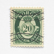 Norway stamp — Stock Photo