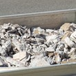 Stock Photo: Demolition waste debris