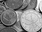 Euro coins background — Stock Photo