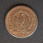 Italian coin — 图库照片