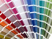 Tabla de colores — Foto de Stock