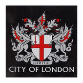 London coat of arms — Foto Stock