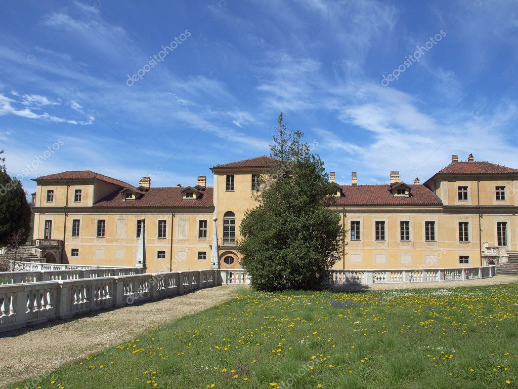 The Villa della Regina in Turin Italy — Stock Photo #7296039