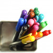 Stock Photo: Felt tip pens