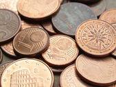 Euro coins — Stock Photo