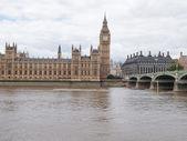 палата общин и палата лордов — Стоковое фото