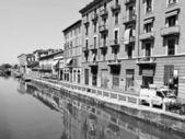 Naviglio grande, Milano — Foto Stock