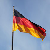 German flag — Foto de Stock