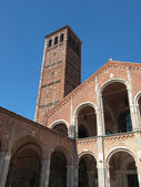 Sant Ambrogio church, Milan — Foto Stock