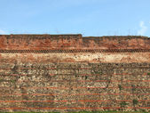 Roman Wall, Turin — Stock Photo