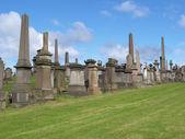 Glasgow necropolis — Stock Photo