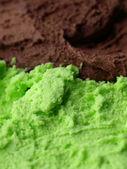 мороженое мята шоколада — Стоковое фото