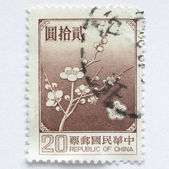 China stamp — Stock Photo