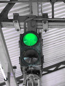 Green Light — Foto Stock