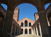 Sant Ambrogio church, Milan — Stock Photo