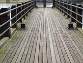 Deck pier — Stock Photo