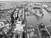 Duesseldorf mediahafen harbour — Stock Photo