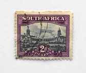 South Africa stamp — Foto de Stock