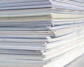 Office paper — Stock Photo