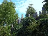 Glasgow cemetery — Stock Photo