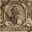 Stock Photo: Shakespeare Festival Stamp