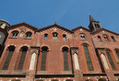 Sant Eustorgio church, Milan — Stock Photo
