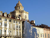 San Lorenzo church, Turin — ストック写真